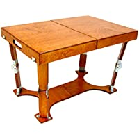 Spiderlegs Folding Coffee Table, 28-Inch, Light Cherry