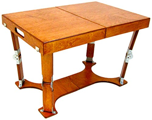 Spiderlegs Folding Coffee Table, 28-Inch, Light Cherry