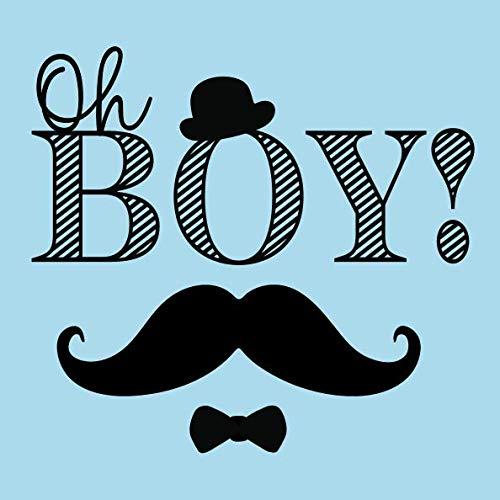 Oh Boy!: Baby Shower Guest Book + BONUS