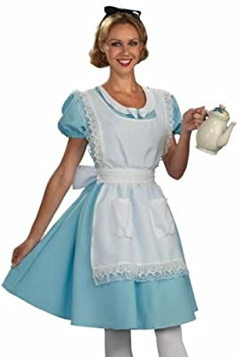 Classic Alice In Wonderland Adult Costume - Womens Std.
