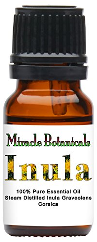 Price comparison product image Miracle Botanicals Inula Essential Oil - Fragrant Aster - 100% Pure Inula Graveolens - Therapeutic Grade - 10ml