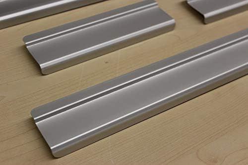 AluNox Einstiegsleisten mit Abkantung T/ürschweller Schutzleisten 7002