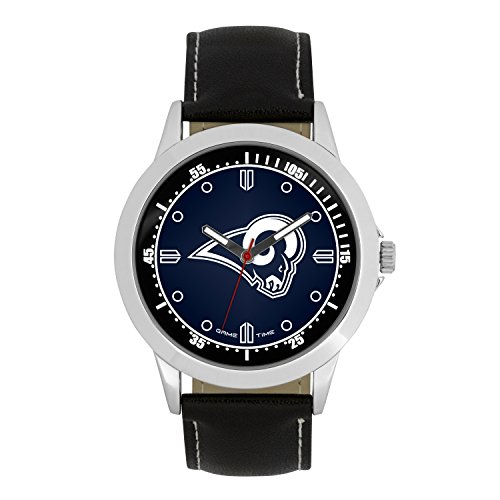 Los Angeles Rams Players - NFL La Rams Mens Player Series Wrist Watch, Silver, One Size