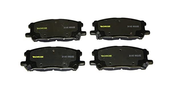 Monroe DX1005 Dynamic Premium Brake Pad Set