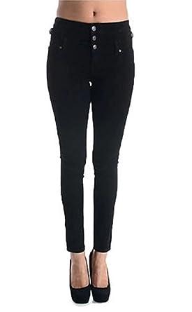 91c1df2b55c76 Eunina Women's High Waisted Stretch Skinny Denim Jeans at Amazon ...