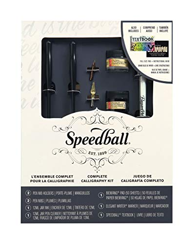 Speedball Art Products 3062 Complete Calligraphy Kit