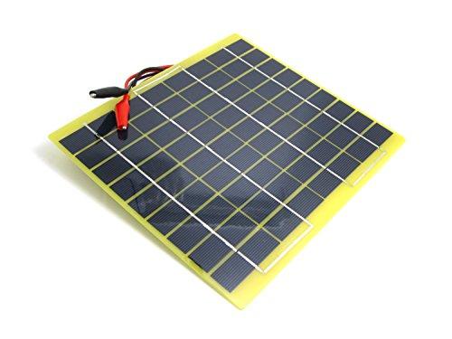 5 Watt Solar Panel Battery Charger - 8