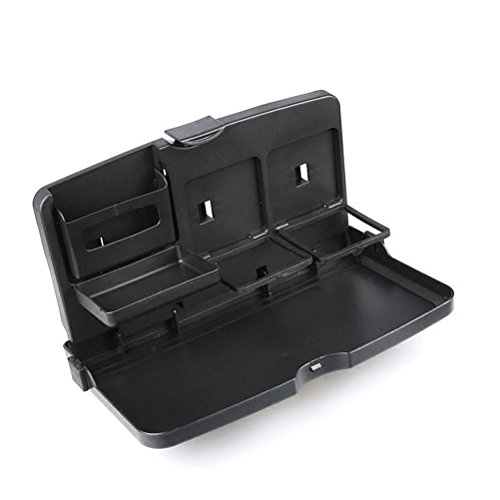 MQYH@ Multipurpose Car Tray - Car Seat Activity & Snack Tray for A More Convenient Time in Your Car Black by MQYH@ (Image #1)