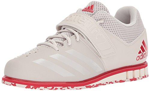 adidas Men's Powerlift.3.1 Cross Trainer, Chalk Pearl/Scarle
