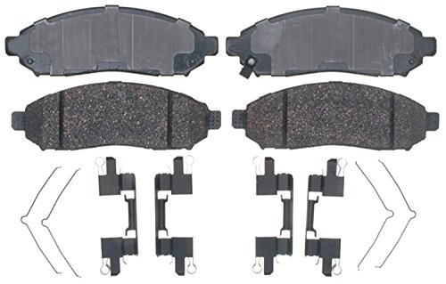 ACDelco 17D1094CH Professional Ceramic Front Disc Brake Pad Set ()