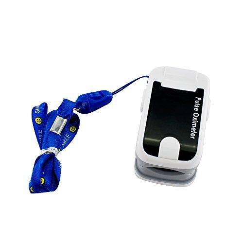 Dedo oxímetro de pulso OLED Carejoy Handheld Digital oxígeno en la sangre y pulso Sensor metro Audio con alarma y pulso sonido - Spo2 monitor portátil dedo ...