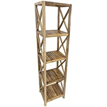 Bamboo Shelf, 5 Tier By Master Garden Products