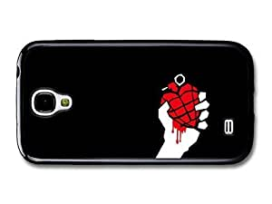 AMAF ? Accessories Green Day Punk Rock Band Red Grenade In Hand case for Samsung Galaxy S4
