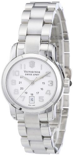 Victorinox Swiss Army Women's 241053 Vivante Silver Guilloche Dial Watch