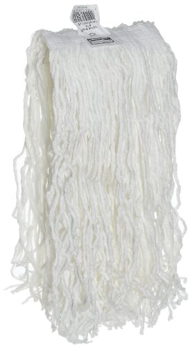 Rubbermaid Commercial Economy Mop Head #16, 1-Inch Headband, Rayon Yarn, White