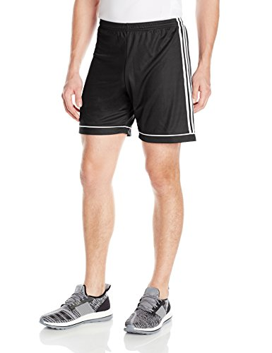 adidas Men's Soccer Squadra 17 Shorts, Black/White, Medium