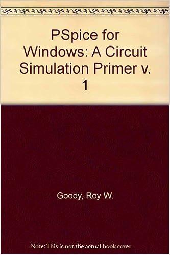 Ebook à télécharger gratuitement en pdf Pspice for Windows: A Circuit Simulation Primer by Roy W. Goody (1995-01-01) B01K3H8OKM PDF