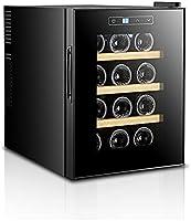 JYXJJKK Vinoteca refrigerada Pequeño refrigerador refrigerado Fashion Fashion Electronic Wine Cooler Roble Estantería para Cocina