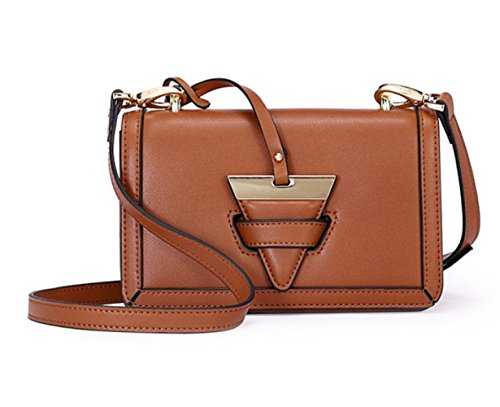 Party Clutches Small Brown Casual Messenger Bag Travel Vintage Fashion Bags Bag 8nUqwUOPC