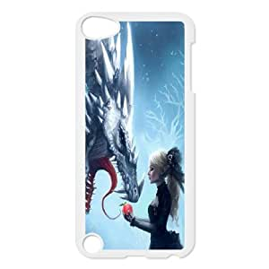 High Quality Phone Back Case Pattern Design 15Powerful Dragons- FOR Ipod Touch 5