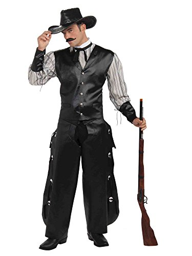 Gambler Costume (Rogue Gambler Man Costume Up to 42