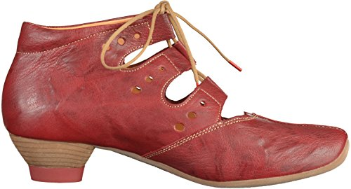 Think 80256 0 Red Dark Womens Booties qfAqWapF
