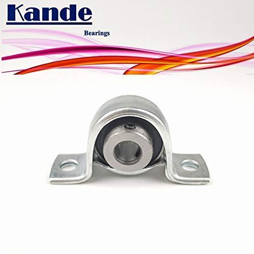 Fevas Kande Bearings 1pc SB202 Bearing core ID:15mm SBPP202 /SB202-8 SBPP202-8 ID:5/8 inch SB SBPP SA202-10 SAPP202-10 SA Sapp - (Outer Diameter: SBPP202(with seat))