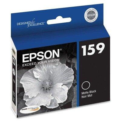OEM Epson 159 (T159820) Matte Black UltraChrome Hi-Gloss 2 Ink Cartridge