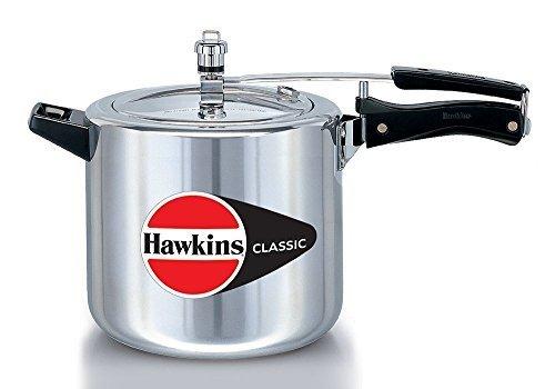 Hawkins Classic Aluminum 6.5 Litre Pressure Cooker by Hawkins