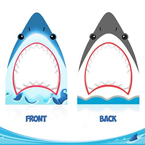 Shark Cut Out - Shark Photo Booth Frame Shark Zone