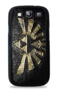 Big Triforce Samsung Galaxy S5 Hard Case - Black - 557 by mcsharks