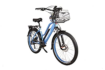 X-Treme Scooters - Catalina Beach Cruiser Electric Bicycle 48 Volt Lithium - Long Range Electric Bike