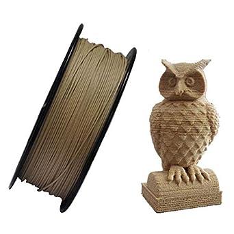 Filamento de madera para impresora 3D, 1,75 mm, 0,8 kg: Amazon.es ...