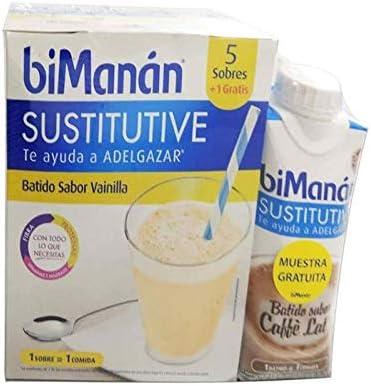 Nutrition und Santé Iberia SL BIOMANAN CHOCOLATE 5 SOBRES + GRATIS AKKU 300ML