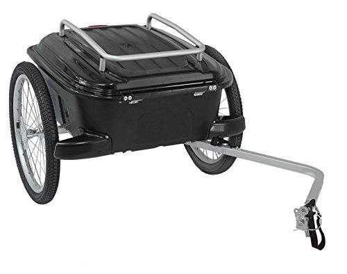 Best Prices! M-Wave CarryAll Hardbox Luggage Trailer (Black - 18.5 gallons)