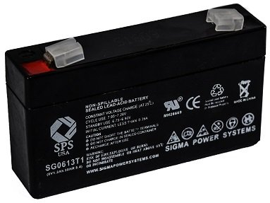 (SPS Brand 6V 1.3Ah Replacement Battery for Quantum Bantam)