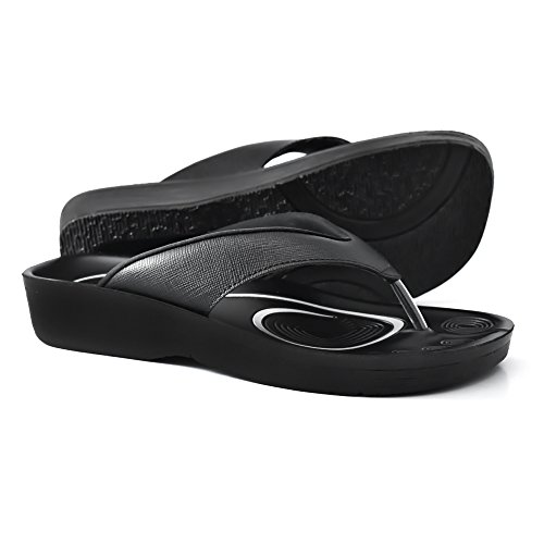 0011cee8431aa8 AEROTHOTIC Original Orthotic Comfort Thong Sandal and Flip Flops with Arch  Support for Comfortable Walk (