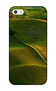 Waves Of Green Hills Case Compatible With Iphone 5/5s/ Hot Protection Case 7075688K75841990