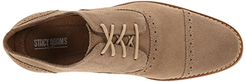 Stacy Adams Mens Seaver Oxford Sand Suede