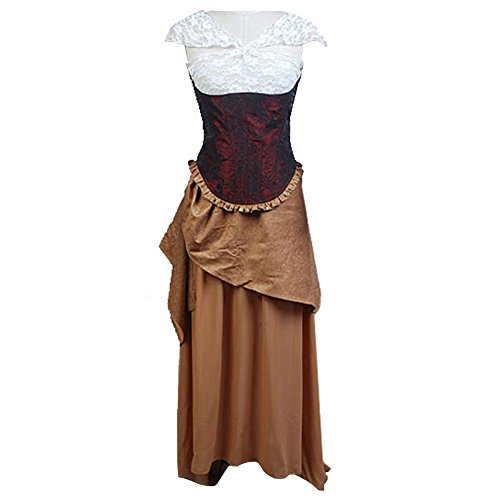 [CosplaySky The Phantom of the Opera Costume Christine Daae Dress Large] (Phantom Of The Opera Costumes For Women)