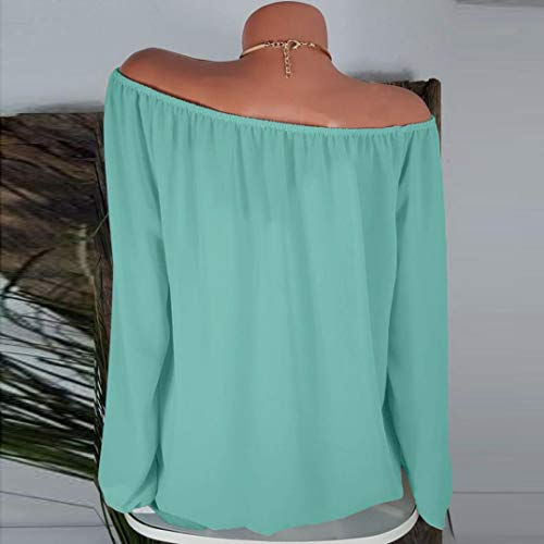 Tops Blouse Longues Taille Vert Casual Loose Solides Pure Innerternet Shirts Tunique Tops Couleur Grande T Femmes Manches Blouse vEYqf8