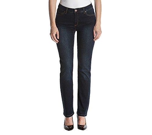 Jones New York Lexington Straight Denim Jeans Indigo 12