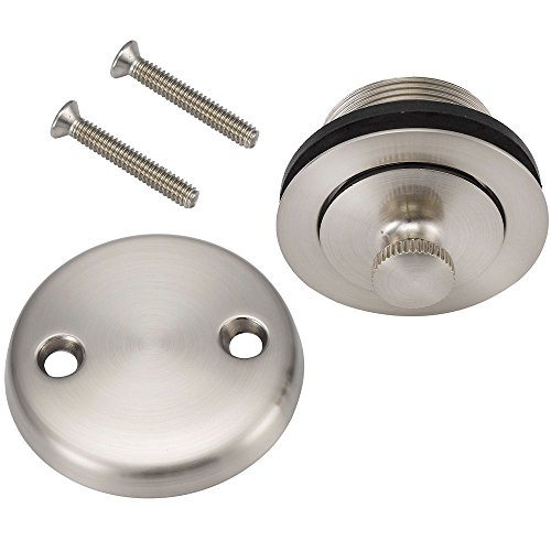 Designers Impressions 615601 Satin Nickel Lift and Turn Drain Trim
