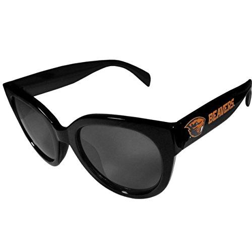 Siskiyou NCAA Oregon State Beavers Womens Sunglasses, Black