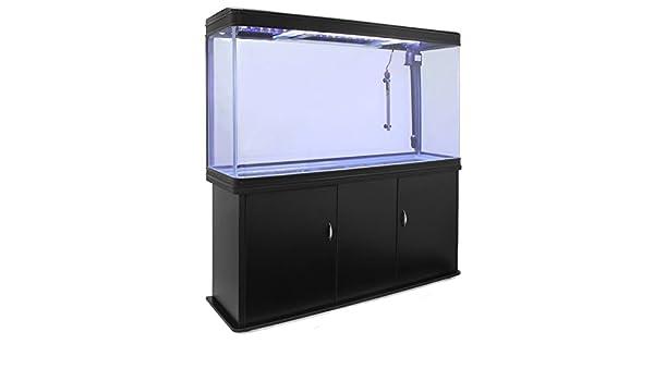 MonsterShop Tanque de peces y gabinete de acuario - Negro: Amazon.es: Productos para mascotas