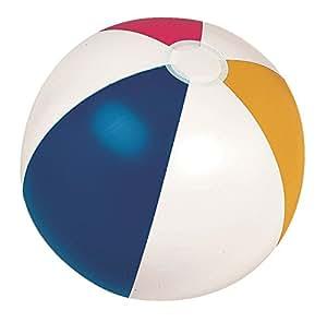 "Por poolcentral 20""Classic–Pelota hinchable de 6paneles playa piscina juguete"
