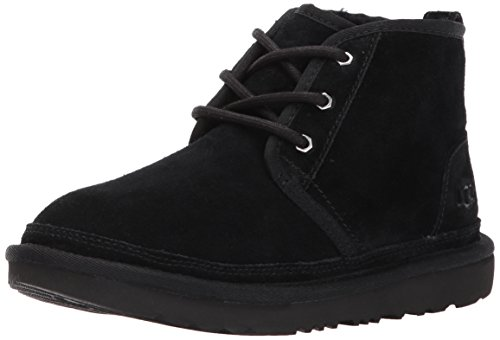 UGG Kids K Neumel II Pull-on Boot, Black, 4 M US Big Kid -