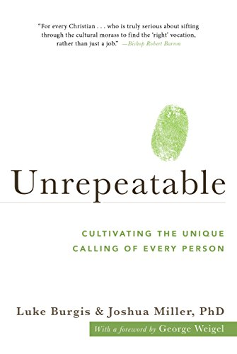 Book cover from Unrepeatable: Cultivating the Unique Calling of Every Person by Luke Burgis