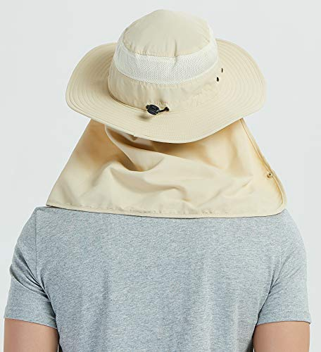 c091b7b1269 DDYOUTDOOR trade  07-281 Fashion Summer Outdoor Sun Protection Fishing Cap  Neck Face Flap Hat Wide Brim - Buy Online in KSA. Sporting Goods products  in ...