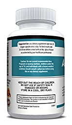 Anti Anxiety Formula 900mg With Gaba, L-Theanine, 5-HTP, Ashwagandha, Magnesium Oxide, St. John\'s Wort, Chamomile - Positive Mood, Relaxed Mind, Promote Higher Serotonin, Live In Peace & Happiness